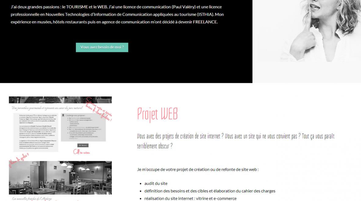 Comète prod - WEB communication pour Hôtels // Restaurants // Structures touristiques
